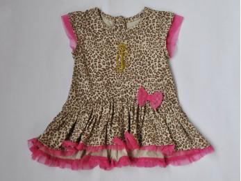 Сукня для дівчинки літо леопард (1052/5)