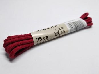 """Шнурки для взуття """"Coccine"""" круглі, червоні 75 см (46)"""
