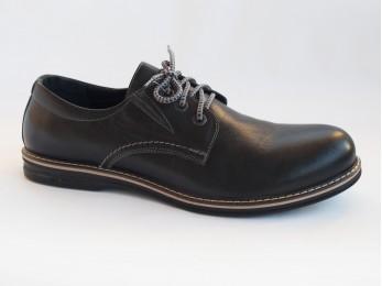 Туфлі чоловічі класичні шкіра на шнурках (667)