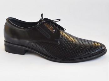 Туфлі чоловічі класичні шкіра на шнурках (736)