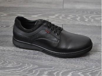 Туфлі - комфорт чоловічі класичні шкіра на шнурках (974)