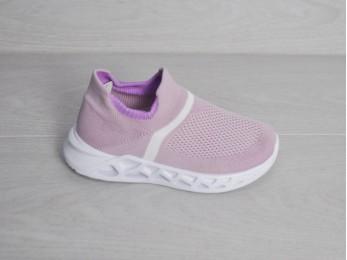 Кросівки - мокасини текстиль рожеві 26-31 (2074)