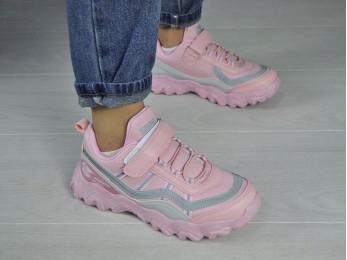 Кросівки для дівчинки рожеві (2060)