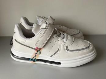 Кросівки для дівчинки білі  (2441)