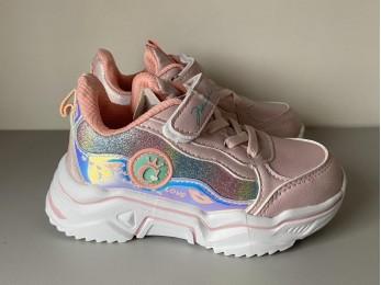 Кросівки для дівчинки рожеві 26-31 (2443)