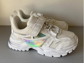 Кросівки для дівчинки білі весна – літо 31-36 (2457)