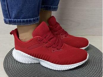 Кросівки для підлітка червоний 36 - 41 (1066)
