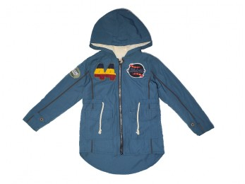 Куртка  для хлопчика синя (1047/14)