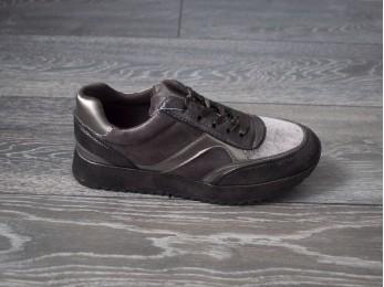 Кросівки жіночі коричневі (01834)